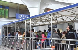 新华VR带您感受春运潮 宝兰高铁迎首个春运