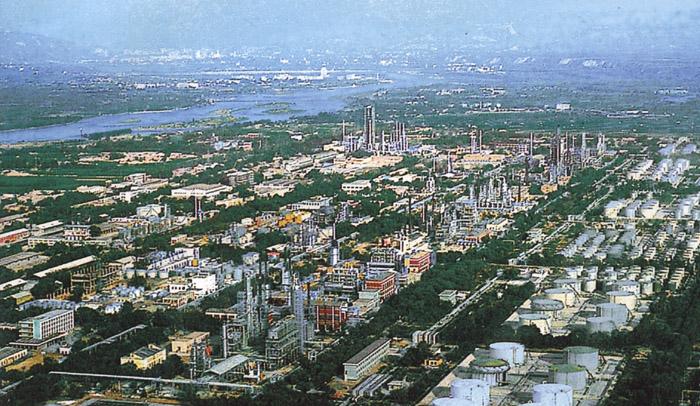 兰州市西固区_西固工业区鸟瞰