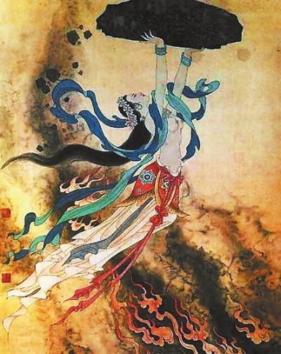 三皇五帝_伏羲与女娲的传说--陇上书画--新华网甘肃频道