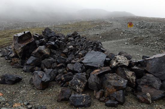 甘肃祁连山国家级自然保护区核心区生态破坏现场资料图