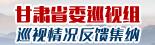 2015甘肅省委巡視組巡視情況反饋集納