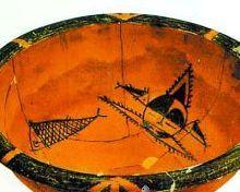 半坡人面鱼纹盆:将外星人绘在了彩陶上?(图)