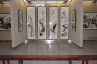 墨韵——ag88环亚娱乐 官方长河花鸟画研究院七人展在兰开展