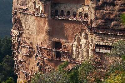 麥積山石窟或為皇家石窟始祖