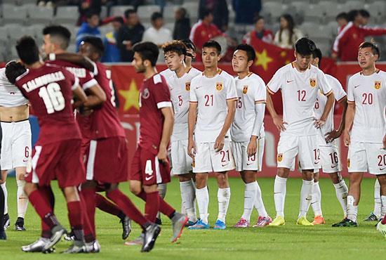 先进一球惨遭逆转 国奥首战负于卡塔尔