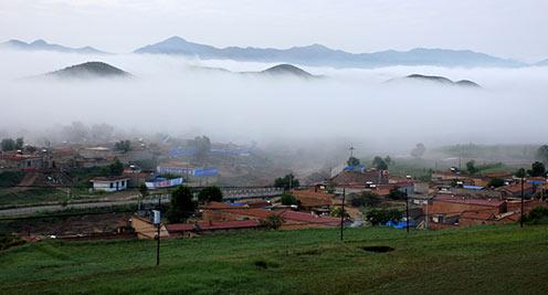 【摄影】黄土高原云雾缭绕