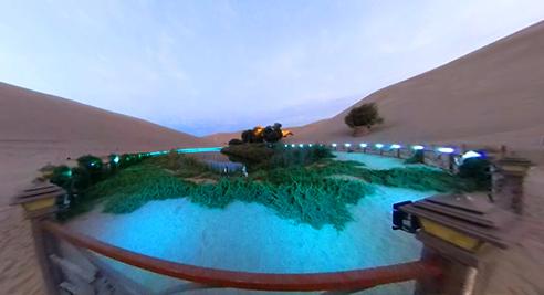 VR视角下的鸣沙山·月牙泉