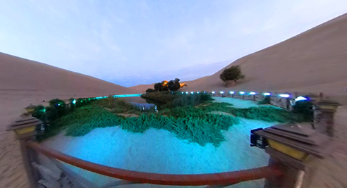 VR視角下的鳴沙山·月牙泉