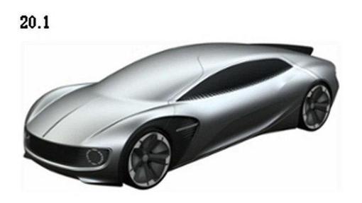 大眾純電動概念車專利圖 別再説我套娃