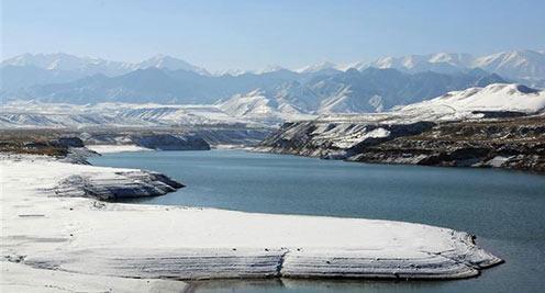 【摄影】祁连山深秋雪后初霁 北国风光入画来