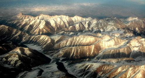 【摄影】航拍祁连山冰川 神奇壮美令人惊叹