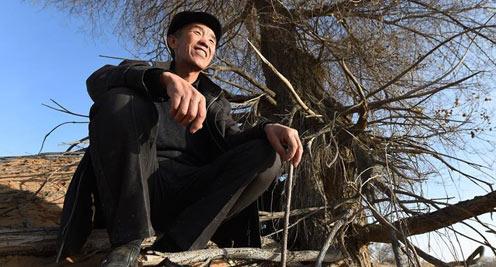【陇原面孔】甘肃武威:数十年坚守的八步沙治沙人