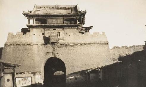 震撼!外國攝影師鏡頭下106年前的張掖(組圖)