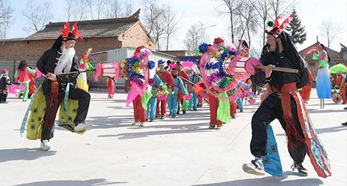 民俗表演迎新春