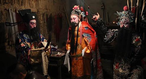 探秘西部山村小戲曲——玉壘花燈戲
