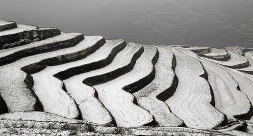 ag88环亚娱乐|官方定西:雪润黄土高原