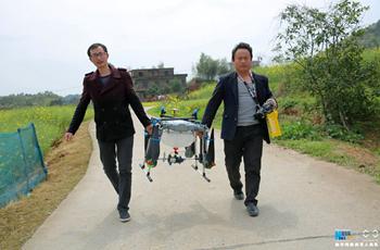 種植大戶迷上植保無人機