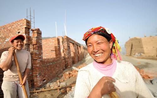 甘肅地震災區重建注重傳承藏民族文化