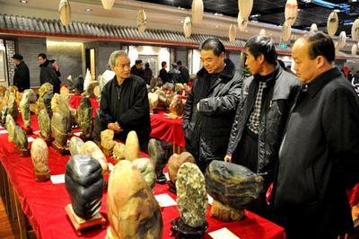 陇西县赏石文化热风方举未艾
