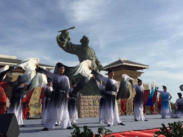 第三屆張芝文化藝術節張芝聖跡圖首展儀式在瓜州舉行