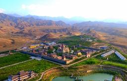 航拍驪靬古城