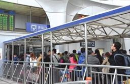新華VR帶您感受春運潮 寶蘭高鐵迎首個春運