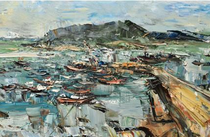 吳曉林油畫展在京開幕