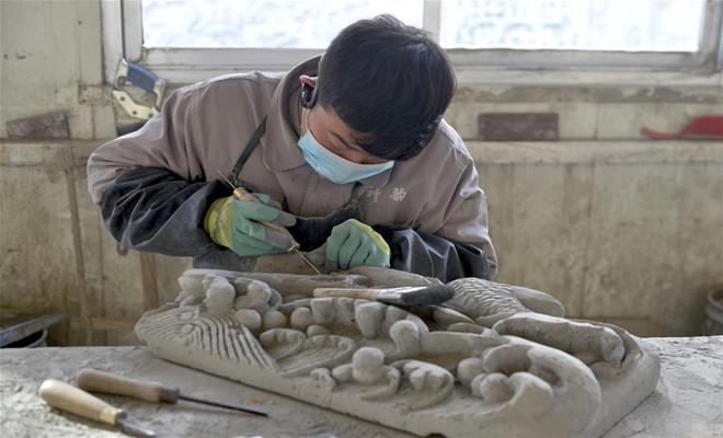 砖雕产业快速发展
