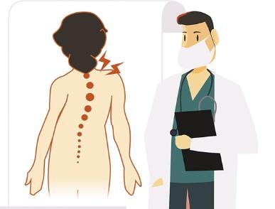 脊柱側彎這件麻煩事 越早重視治療越好