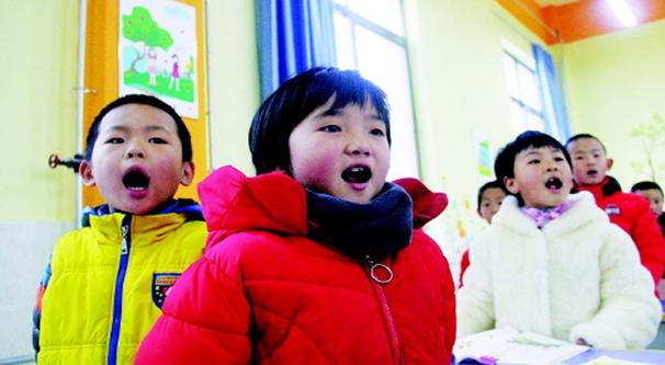 会宁:中小学生诵读中华传统经典