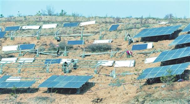 布楞溝村大力發展光伏發電項目助民脫貧