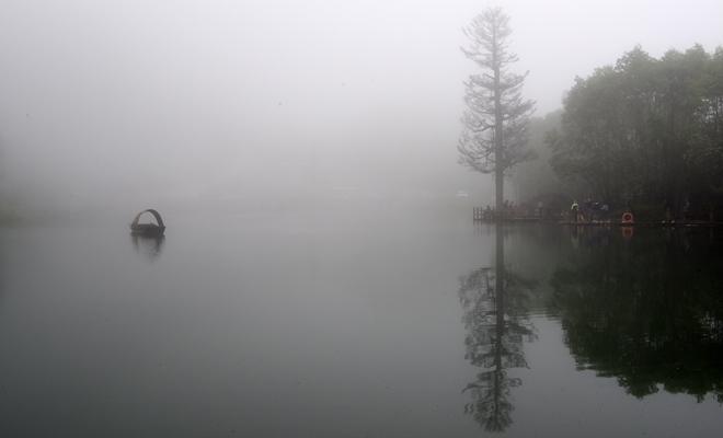 霧漫官鵝溝