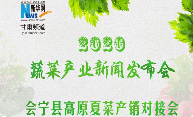 【直播】会宁县2020年高原夏菜产销对接会暨蔬菜产业新闻发布会