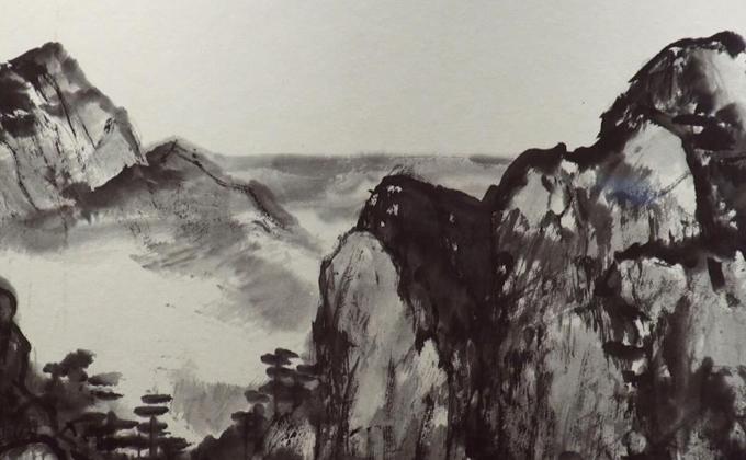 書畫創作是抒發心聲的自然過程