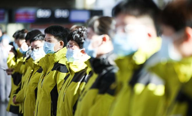 甘肅省第六批援助湖北醫療隊啟程