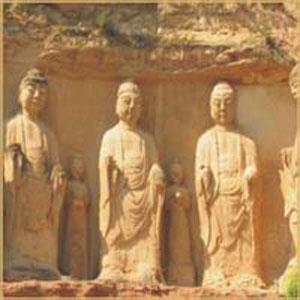 绝壁古刹石崆寺