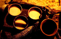 品尝酥油茶的礼仪