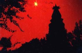 肃州八景之一的塔院寺