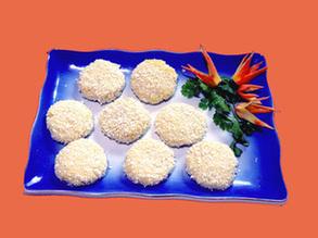 小米松酥饼