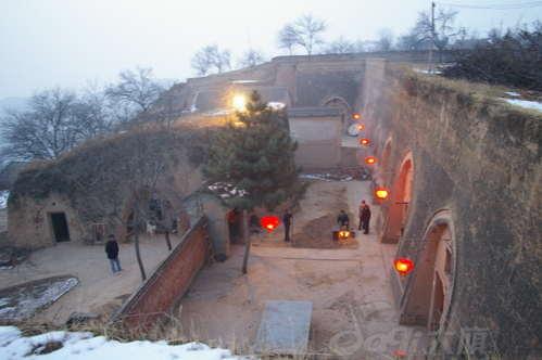 黄土文明的摇篮---庆阳窑洞